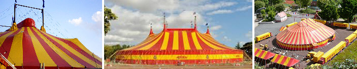 You are looking at photographs of three u201ccupolau201d style circus tents belonging to Circus Pinder in France. We are showing them to you because they are the ...  sc 1 st  Pastor John Hamel & World Harvest Tent Evangelism